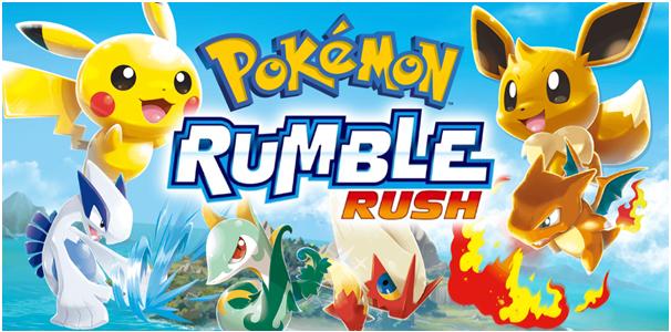 Pokemon Rumble Rush in Canada