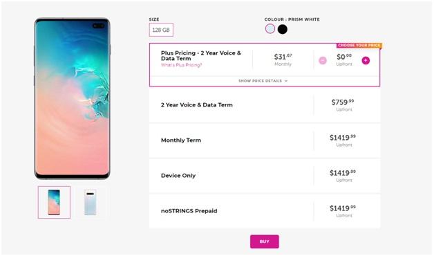 Sasktel Samsung plans