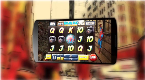 Six Slot games to enjoy with big screen mobile