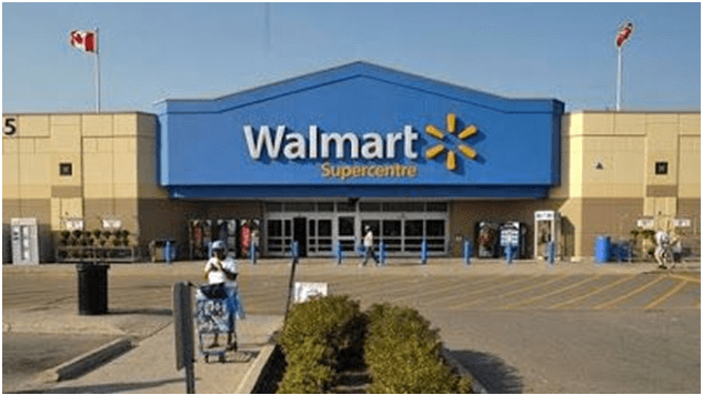 Walmart mobile check out