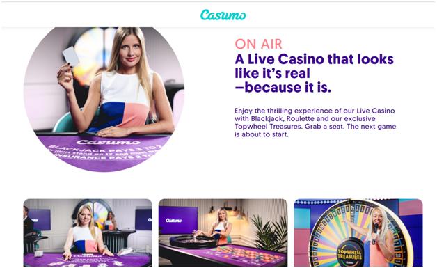 Casumo casino live