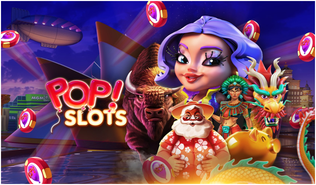 How to enter the Real Vegas casinos in Pop Slots with your mobile?