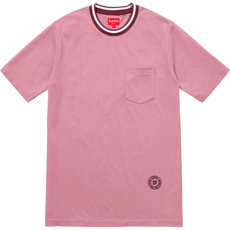 Rib Pocket Tee (Dusty Pink)