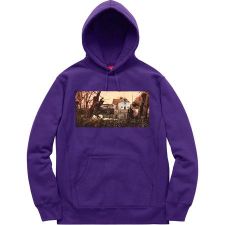 Supreme®/Black Sabbath© Hooded Sweatshirt (Purple)