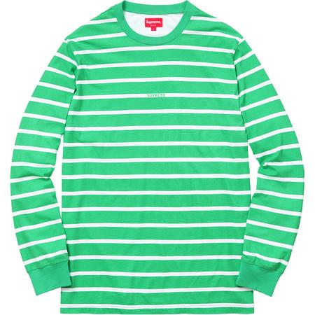 Printed Stripe L/S Top (Green)