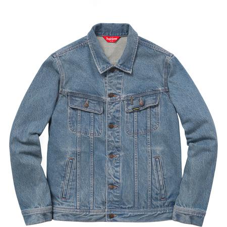 Supreme®/Black Sabbath© Denim Trucker Jacket (Washed Blue)