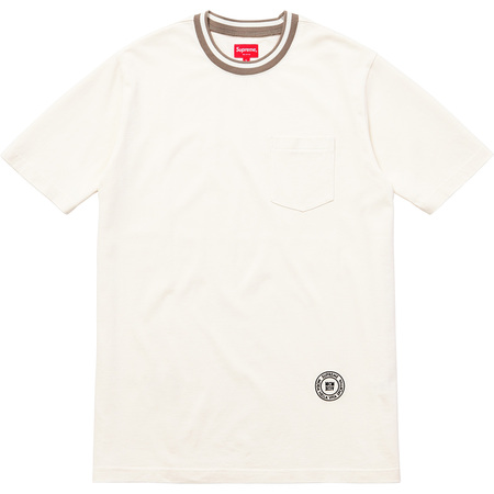 Rib Pocket Tee (Natural)