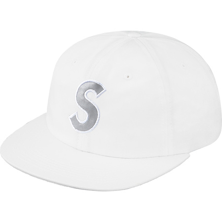 3M® Reflective S Logo 6-Panel (White)