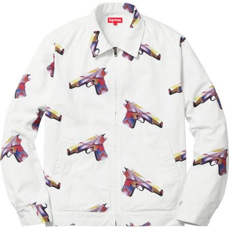 Mendini Work Jacket (White)