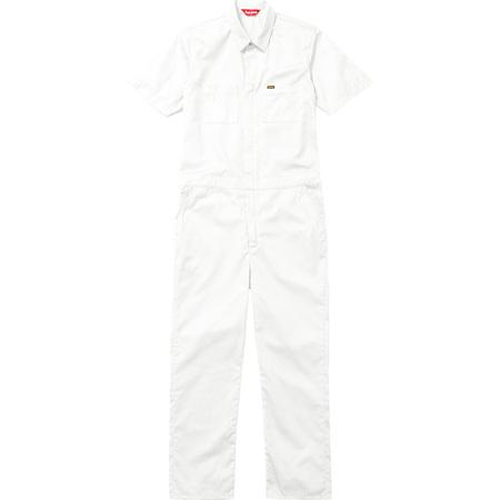 S/S Coveralls (White)