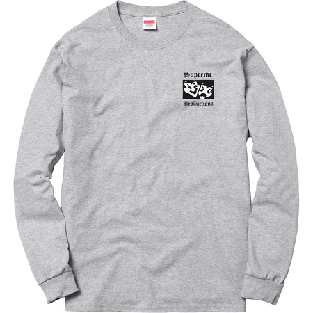 Productions L/S Tee (Heather Grey)
