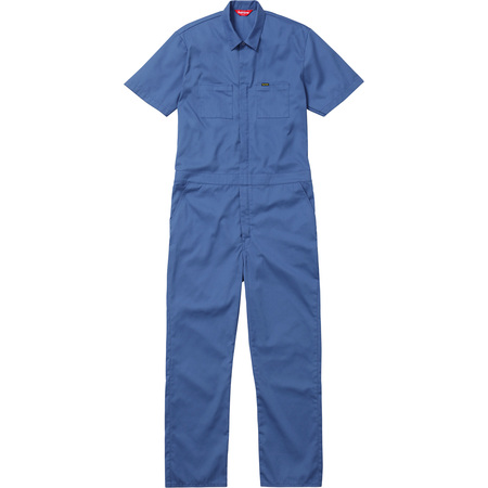 S/S Coveralls (Dusty Blue)