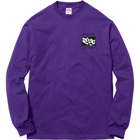 Productions L/S Tee (Purple)