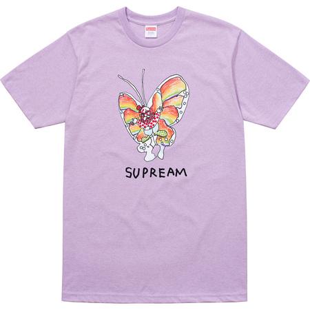 Gonz Butterfly Tee (Heather Light Purple)