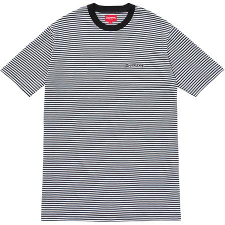 Multi Stripe Tee (Black)