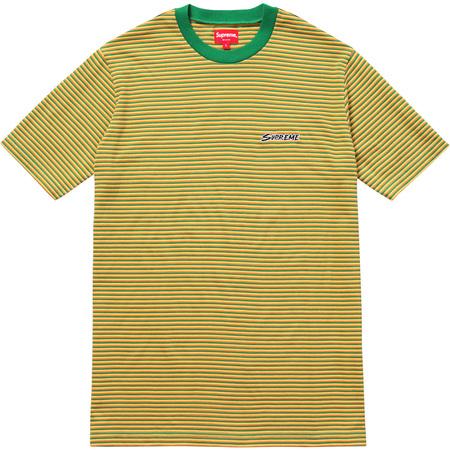 Multi Stripe Tee (Green)
