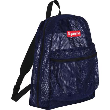 Mesh Backpack (Navy)