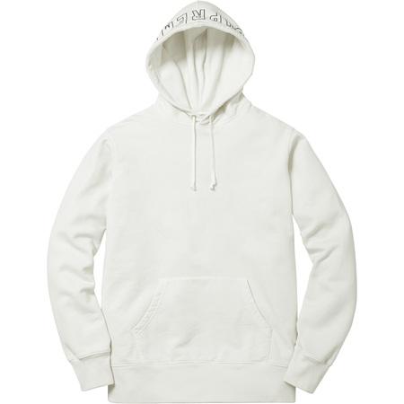 Overdyed Hooded Sweatshirt (Off White)