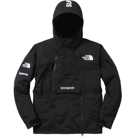 Supreme®/The North Face® Steep Tech Hooded Jacket (Black)