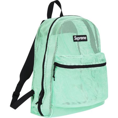 Mesh Backpack (Mint)