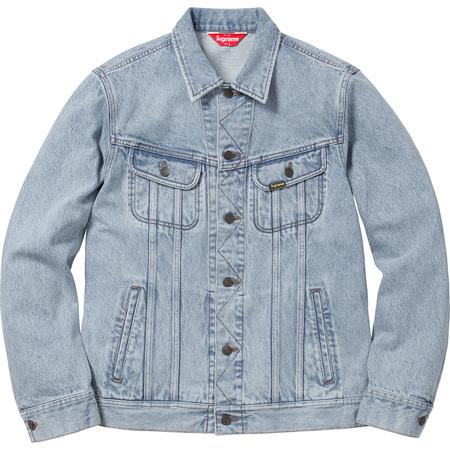 Denim Trucker Jacket (Washed Blue)