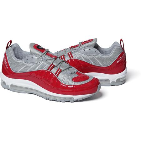 Supreme®/Nike® Air Max 98 (Red)
