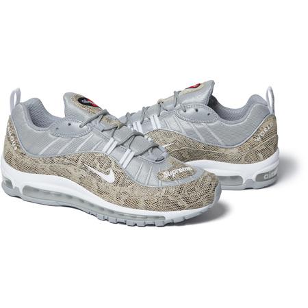 Supreme®/Nike® Air Max 98 (Snakeskin)