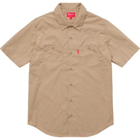 Mary S/S Work Shirt (Tan)