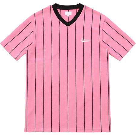 Pinstripe Soccer Top (Pink)