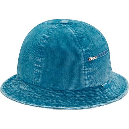 Cord Zip Bell Hat (Blue)