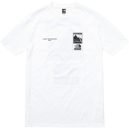 Supreme/The North Face Steep Tech Tee (White)
