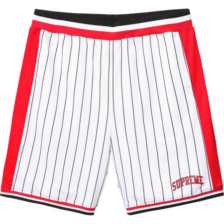 Crossover Basketball Short (White)