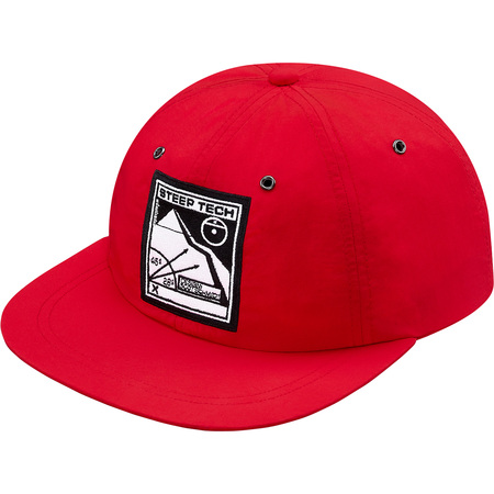 Supreme/The North Face Steep Tech 6-Panel (Red)