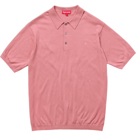 Knit Polo (Dusty Pink)