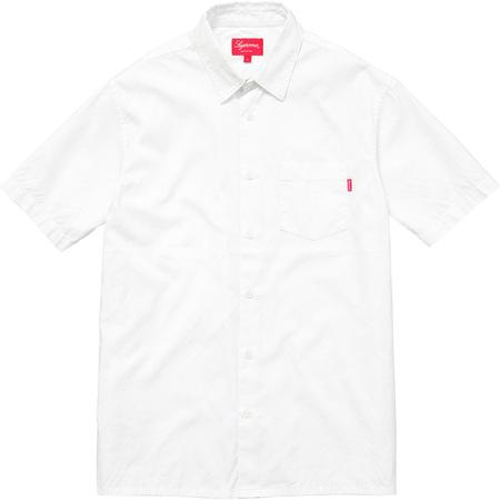 Lightweight S/S Oxford Shirt (White)