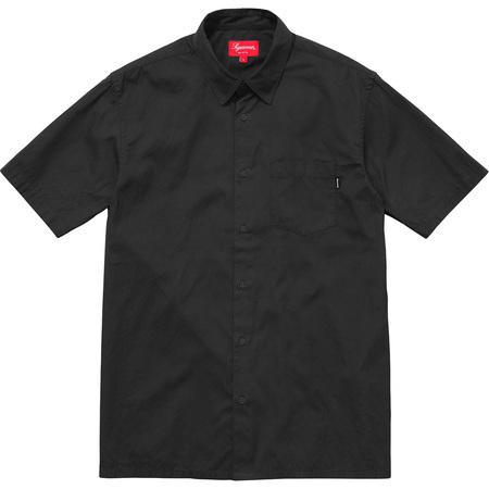 Lightweight S/S Oxford Shirt (Black)