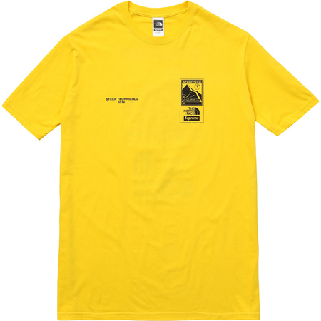 Supreme/The North Face Steep Tech Tee (Yellow)