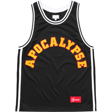 Apocalypse Basketball Jersey (Black)