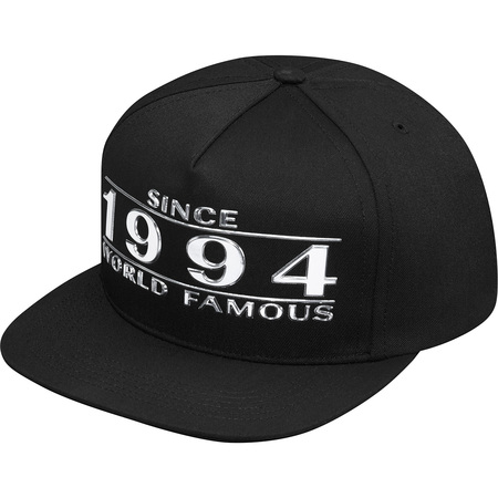 Way Back 5-Panel (Black)