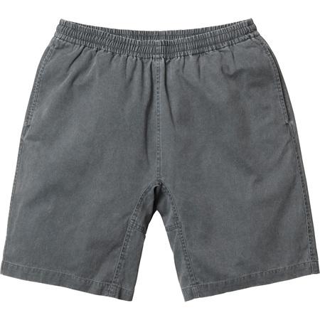 Washed Twill Short (Black)