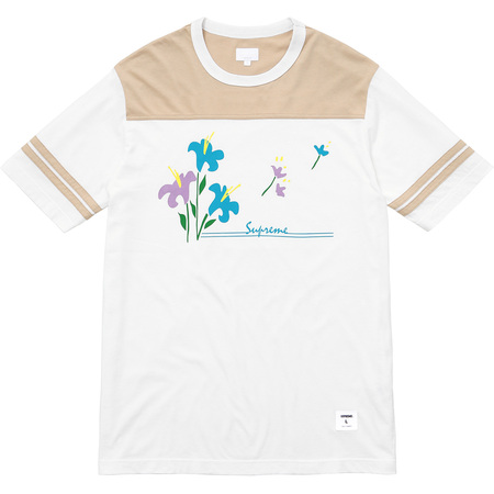 Flower Football Top (Tan)