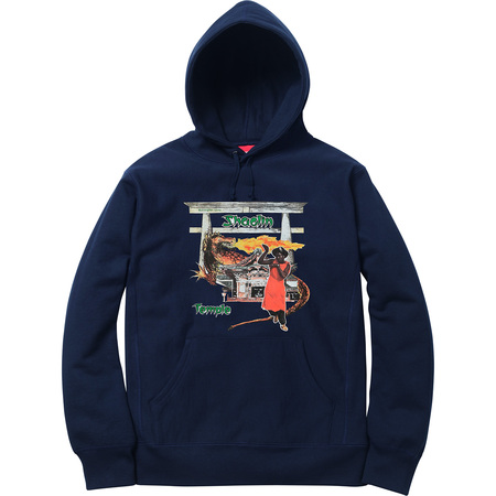 Supreme®/Barrington Levy & Jah Life Shaolin Temple Hooded Sweatshirt (Navy)