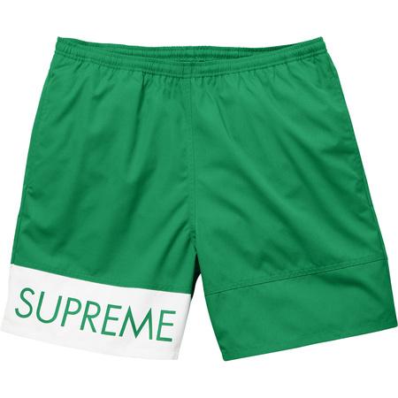 Banner Water Short (Green)