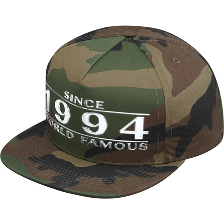 Way Back 5-Panel (Woodland Camo)