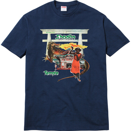 Supreme®/Barrington Levy & Jah Life Shaolin Temple Tee (Navy)