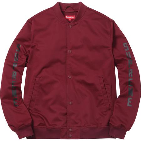 Supreme®/ANTIHERO® Bomber Jacket (Burgundy)