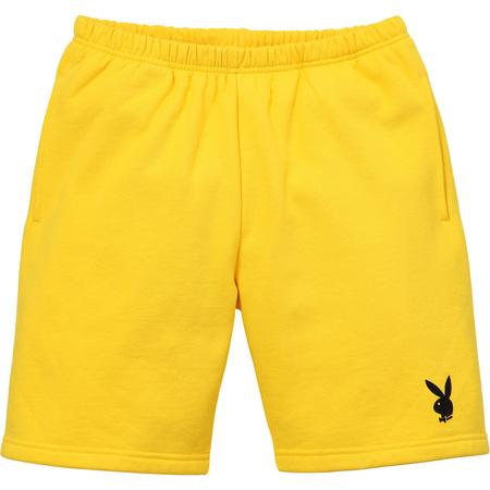 Supreme®/Playboy© Sweatshort (Yellow)