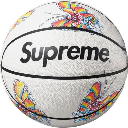 Supreme®/Spalding® Gonz Butterfly Basketball (White)