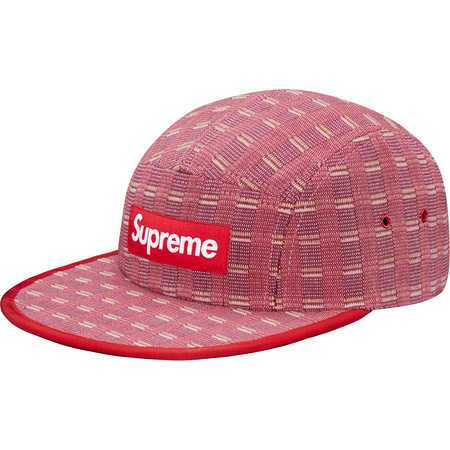 Nepal Woven Fitted Camp Cap (Red)