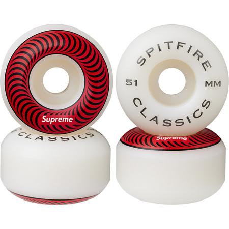 Supreme®/Spitfire® Wheels (Set of 4) (Red)